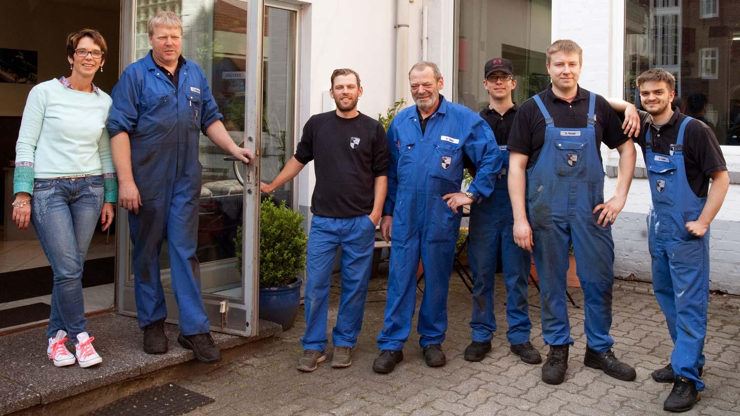 Das Team der Werkstatt Thele + Peters